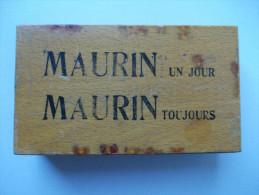 - BOITE A JEU DE CARTES - MAURIN -