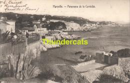 CPA 13 MARSEILLE PANORAMA DE LA CORNICHE - Endoume, Roucas, Corniche, Plages