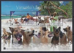 VANUATU - 2013 - Chiens - BF Neufs // Mnh - Vanuatu (1980-...)