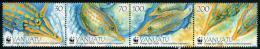 VANUATU - 2013 - Faune Marine, Poissons, WWF- 4v Neufs // Mnh - Vanuatu (1980-...)