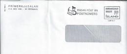 Entire Letter Stationery Prepaid Iceland. Two Scans. - Vignettes D'affranchissement (Frama)