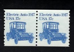 205157643 USA POSTFRIS MINT NEVER HINGED POSTFRISCH EINWANDFREI SCOTT 1906 Pair Transportation Electric Auto 1917 - Neufs