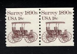 205157559 USA POSTFRIS MINT NEVER HINGED POSTFRISCH EINWANDFREI SCOTT 1907 Pair Transportation Surreys 1890 - Neufs