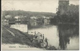 Faubourg De BOUTIERS , ( COGNAC ) , 1905 - France