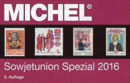 MlCHEL Sowjetunion Spezial Briefmarken Katalog 2016 New 150€ Porto/Lokal/Gebühren-Marken Special Catalogues USSR CCCP SU - Non Classificati