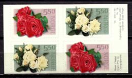Norway 2003 Noruega / Flowers Roses MNH Flores Blumen Fleurs / je34  1