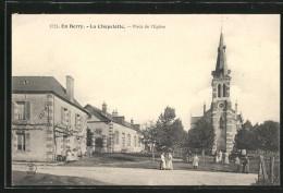 CPA La Chapelotte, Place De L'Eglise - Non Classés