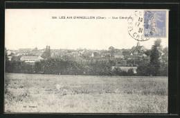 CPA Les Aix-d'Angillon, Vue Generale - Les Aix-d'Angillon
