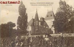Aloxe-corton Chateau Huguenin-bernard Cuveries Construites En 1774 Viticulture Vendanges - Non Classés