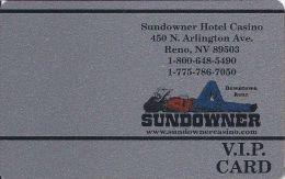 Sundowner Casino Reno NV - 4th Issue Slot Card (Blank)  ...[RSC]... - Casino Cards