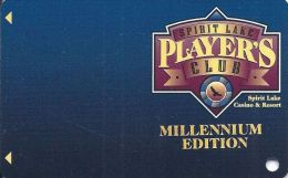 Spirit Lake Casino North Dakota - Blank 2nd Issue Millennium Edition Slot Card - Casino Cards