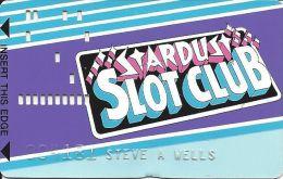 Stardust Casino Las Vegas - 1st Issue Slot Card - Casino Cards