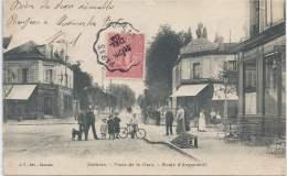 95 - SANNOIS - Val-d'Oise - Place De La Gare - Route D'Argenteuil - Sannois