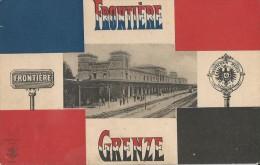 57  GARE DE NOUVEL AVRICOURT Frontière  Grenze - Stations Without Trains