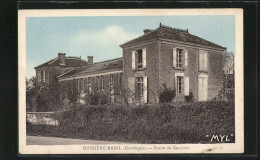 CPA Bussiere-Badil, Ecole De Garcons - France