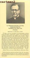 FAIRE-PART DE DECES Monseigneur  Josemaria Escriva De Balaguer Y Albas Fodateur De L´Opus Dei Bresil Italia - Obituary Notices