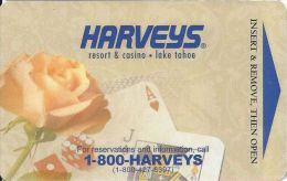 Harveys Casino Hotel Room Key Card - Hotel Keycards
