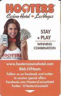 Hooters Casino Hotel Room Key Card - Hotel Keycards