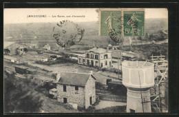 CPA Landivisiau, Les Gares, Vue D'ensemble, La Gare - Landivisiau