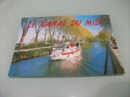 NAVE SHIP LE CANAL DU MIDI - Chiatte, Barconi