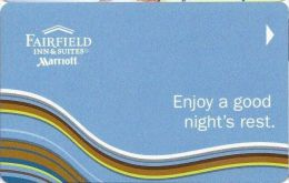 Fairfield Hotel Room Key Card - Hotel Keycards