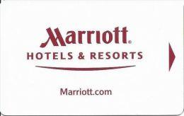 Marriott Hotel Room Key Card - Hotel Keycards