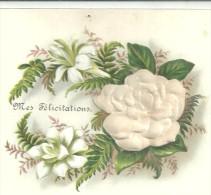 Image  Gauffréee Fleurs - Old Paper