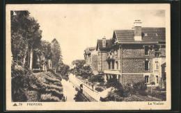 CPA Provins, La Voulzie - Provins