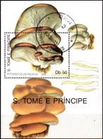 BF n�77 et 78  -oblit�r� - Champignons - SAINT THOMAS ET PRINCE