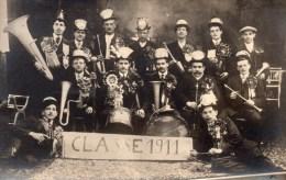 PHOTO DE CLASSE   1911  CARTE POSTALE - Saluti Da.../ Gruss Aus...