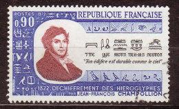 FRANCE - 1972 - YT  N° 1734  -oblitéré - Champollion - France
