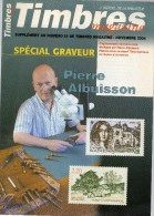 DT75 CATALOGUE SUPPLEMENT SPECIAL GRAVEUR TIMBRES MAGAZINES 2004 - Frans