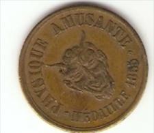FRANCE, Prestidigitation - Médaille Avec Tête De Diable - Physique Amusante - VOISIN - 1855 - Paris - - Altri