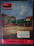 La vie du rail N� 468  Dimanche 24 Octobre 1954  Construction de locomotives Visite � l'usine Batignolles � Nantes