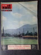 La vie du rail N� 471  Dimanche 14 Novembre 1954  Entre les gares de Coarraze-Nay et Montaut-Betharram