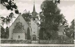 Berlin - Konradshöhe - Evangelische Kirche - Foto-AK - Verlag Herbert Meyerheim Berlin - Tegel