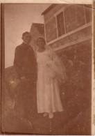 Photo Originale Mariage - Mariage Vers 1910 - Marthe Gérard Et Son Mari - - Personnes Identifiées