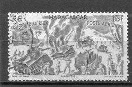 MADAGASCAR  N° 68  (Y&T)  (Poste Aérienne) (Oblitéré) - Poste Aérienne