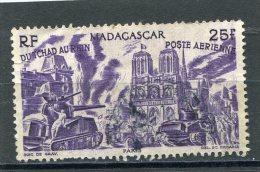 MADAGASCAR  N° 70  (Y&T)  (Poste Aérienne) (Oblitéré) - Madagascar (1889-1960)