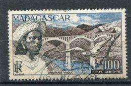 MADAGASCAR  N° 76  (Y&T)  (Poste Aérienne) (Oblitéré) - Luftpost