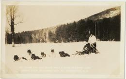 Baffin Land Ed. Clark And Mal Wood With A Team Dog Sledge - Nunavut