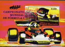 BRESIL-BRASIL 1972-F1-Fittipaldi-YVERT BF30***MNH - Auto's