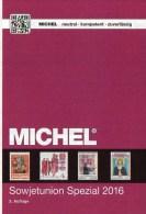 MlCHEL Sowjetunion Spezial Briefmarken Katalog 2016 Neu 150€ Porto/Lokal/Gebühren-Marken Special Catalogues USSR CCCP SU - Material Und Zubehör