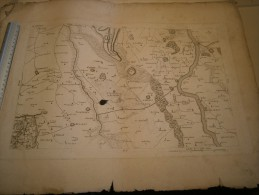 Carte De ORDINGEN - DUYSBOURG -LINN - Geographical Maps
