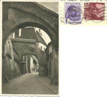 ROMANIA  SIBIU  Hermannstadt  Str. Pempflinger-Gasse  Foto J.Fischer Nice Stamps - Romania