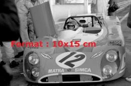 Photographie De La Matra M670 De JP Beltoise Aux 24H Du Mans De 1972 - Reproducciones