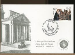 ITALIA - CAMPOBASSO - Chiesa CATTEDRALE Di CAMPOBASSO - Chiesa Giubilare - Kirchen U. Kathedralen