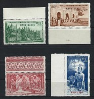"Mauritanie Aerien YT 6 à 9 "" Série 4 PA "" 1942 Neuf** BDF - Unused Stamps"