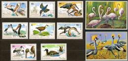 Rwanda - 649/658 + BL58/59 - Oiseaux - 1975 - MNH - Rwanda