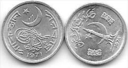 Pakistan 1 Paisa  1971 Km 29 + 1974  Km 33   Unc - Pakistan
